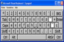 Imagen de Microsoft Visual Keyboard 2006
