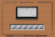 Imagen de Guitar Tuner Java Applet 1.1